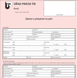 Formulář: Sociální dávky 2013 - příspěvek na péči